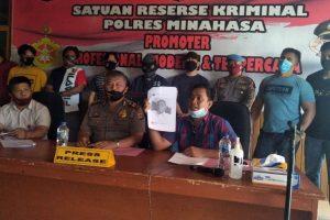 DPO Terduga Pelaku Ujaran Kebencian Bernuansa SARA Dibekuk Tim Buser Polres Minahasa di Cimahi