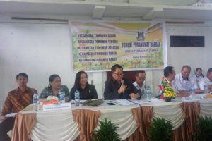 Wakil Ketua Dekot Tomohon Hadiri Forum Perangkat Daerah