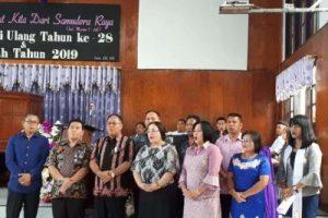 Ini Pesan Gubernur Sulut di HUT ke- 28 GMIM Syalom Tounkuramber