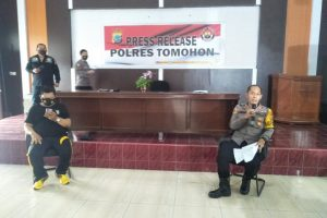 AKBP Bambang Ashari Gatot: Selama Tahun 2020, Polres Tomohon Tangani 537 Kasus