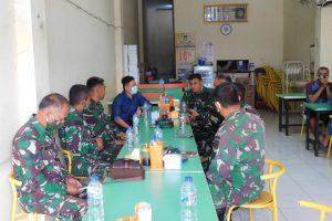 Dandim 1302/Minahasa Letkol Andi Sinaga Gelar Rapat Perdana bersama Perwira Staf