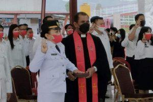 Jabat Camat Kombi, Misye Kumontoy: Ini adalah Amanah