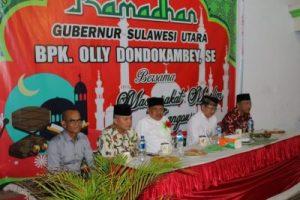 OD dan RD Buka Puasa Bersama Umat Muslim Langowan