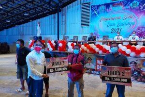 Tomohon Tuan Rumah Pagelaran Seni Budaya BNN 2021