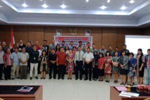 Wakili Bupati, Wagey Buka Rakor TPID Jelang Natal dan Tahun Baru