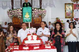 ADVERTORIAL: Bupati dan Wabup Minahasa Gelar Ibadah Syukur 1 Tahun Kepemimpinan