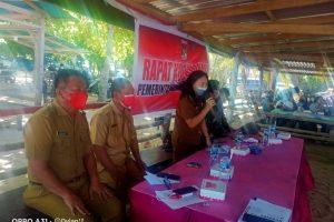Camat Kumontoy Pimpin Rakor Kecamatan, Desa Kombi Capai Target Pajak