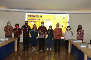 Kota Tomohon Kembali Dianugerahi Penghargaan KLA Tingkat Pratama