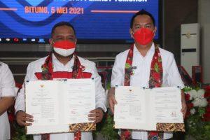 Kepentingan TKI Asal Tomohon, Senduk Teken Nota Kesepakatan dengan BP2MI