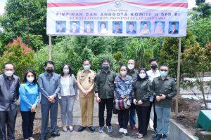 Wali Kota Tomohon Harap Komite II DPD RI Dapat Bantu Pengembangan Bunga Krisan
