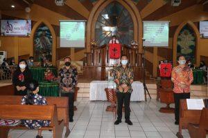 Dilantik dalam Ibadah Minggu, Caroll Senduk Ketua Panitia Pemekaran Wilayah Lokon Empung