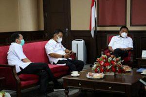 Perkuat Sinergitas, Caroll Senduk Temui Gubernur Sulut