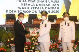 Wali Kota Tomohon Caroll Senduk Bawakan Pidato Pertama