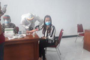 DPRD Minahasa Gelar Rapid Test Ke Tiga, Kuron: Puji Tuhan Semuanya Non Reaktif