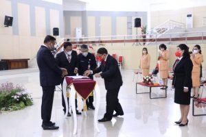 RD Hadiri Pelantikan Denny Mangala sebagai Asisten I Setdaprov Sulut
