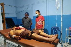 Dua Warga Tinoor Terlibat Duel Berdarah, Tim Totosik Turun Tangan