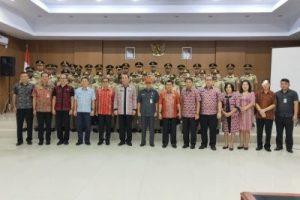 Pemkab Minahasa Tatap Muka dengan Praja IPDN dalam Rangka PKL