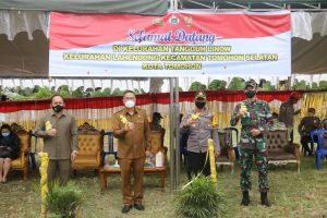 Wali Kota Launching Kampung Tangguh Linow
