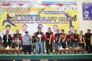 Karate Open Tournament Kajati Sulut Cup ke-II Berakhir, Eman: Ini Ive Terbesar Pertama Tahun 2020 di Kota Tomohon