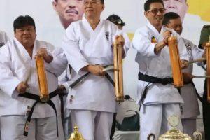 "Dihadiri Wali Kota Jimmy Eman, Karate Open Tournament Karate-Do Gojukai ""Kajati Sulut Cup"" ke-2 Resmi Dibuka"