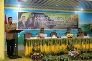 Bagi Eman, Rakor EPRA Mengukur Realisasi Anggaran Belanja Perangkat Daerah