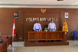 Kapolres Minahasa Pelaksana Tugas Ketua Lemkari Sulut