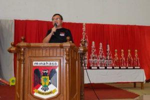 Open Karate Minahasa Championship Kapolda Sulut Cup Resmi Ditutup