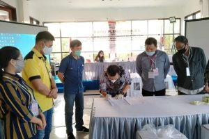 Pleno KPU Tomohon, Olly Steven Raih Suara Terbanyak