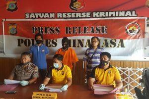 Penyidik Polres Minahasa Berhasil Ungkap Motif Dugaan Pembunuhan terhadap JM
