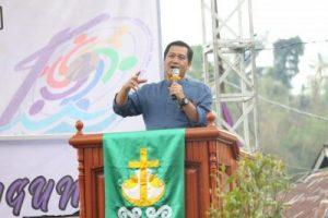 Pembukaan Konsultasi Tahunan Pemuda GMIM Dihadiri Wagub Sulut