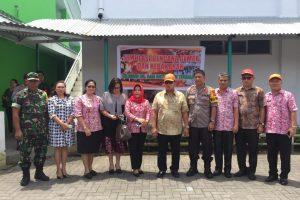 Simulasi Penanggulan Bencana Kebakaran dan Gempa Bumi Digelar dalam Rangka Akreditasi SNARS RSUD Sam Ratulangi Tondano