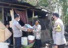 Lagi, Polres Tomohon Salurkan Bansos bagi Warga Terdampak Covid19
