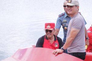 Peduli Danau Tondano, Ini yang Dilakukan Bupati Minahasa dan Danlantamal VIII Manado