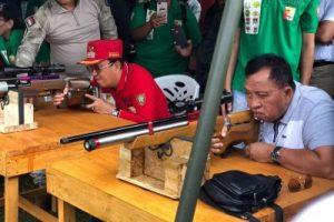 Harapan Bupati Minahasa, Kejuaraan Menembak Dapat Lahirkan Atlit Berprestasi