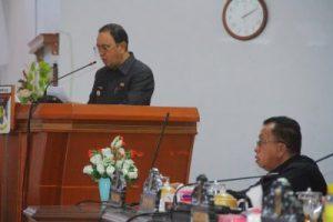 ROR – RD Hadiri Paripurna Penyampaian Rancangan KUPA dan PPAS-PAPBD Tahun Anggaran 2019
