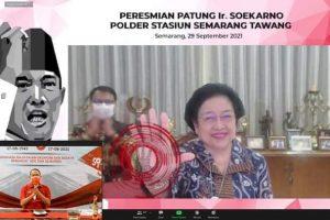 Royke Roring Ikut Peresmian Patung Ir. Soekarno di Semarang