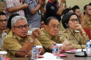 Dipimpin Gubernur Sulut, Bupati ROR Hadiri Rapat Karhutla