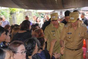 ROR-RD Hadiri Ibadah Pemakaman di Sendangan