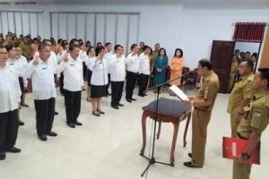 Bupati Minahasa Lantik Pejabat Pimpinan Tinggi, Administrator dan Pengawas
