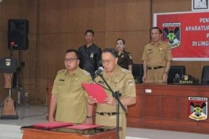 Gerbong Rolling Kembali Bergulir, ROR Lantik Pejabat Pimpinan Tinggi Pratama