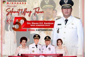 ROR – RD: Selamat atas Ketambahan Usia Setahun buat Wakil Gubernur Sulut