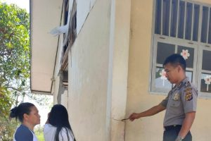 Akibat Gempa, Dinding SDN Makalisung Ambruk