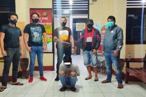 Team URC Totosik Tangkap Pelaku Onar Pakai Parang