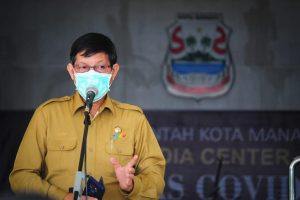 Gelar Jumpa, Wali Kota Manado Siap Salurkan Sembako bagi Warga Berdampak Covid-19