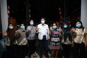 Kampanyekan Protokol Kesehatan, Wali Kota Manado Kunjungi Kelurahan di Kecamatan Singkil