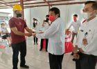Kegiatan Padat Karya Tunai Kotaku 2021 di Minahasa Resmi Dilaunching