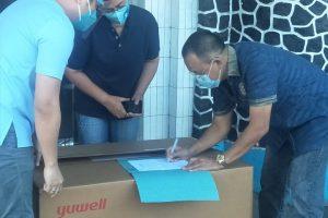Diserahkan Wenny Lumentut, RS Gunung Maria Terima Bantuan Ventilator dari Gubernur Sulut