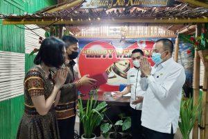 Lumentut Jadi Pencatat Pernikahan Ajudan
