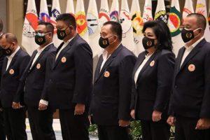 Wawali Tomohon Dilantik sebagai Waket IV KONI Sulut Periode 2021 – 2025