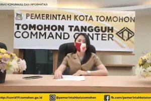 Update Covid-19 Kota Tomohon: Satu Lagi Pasien Positif Sembuh